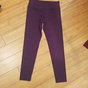 Rbx  brand plum leggings size small